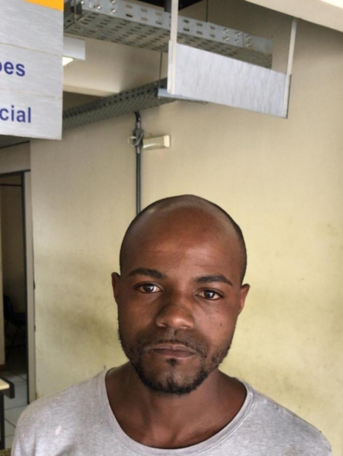 ladrão de cargas preso em São Gonçalo - Samuel Alves Arcanjo Silva