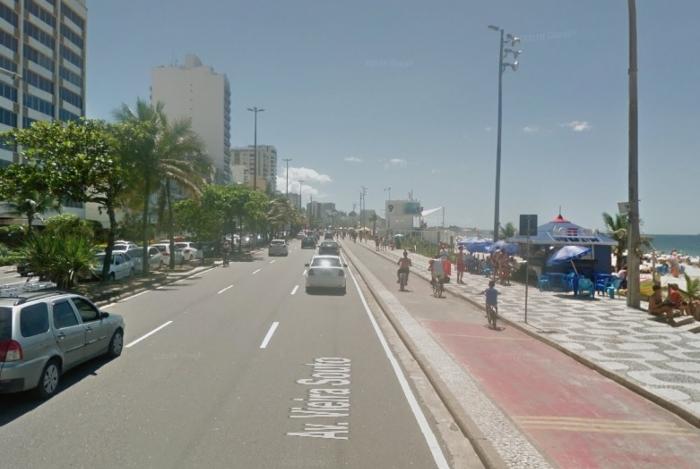 Os chilenos foram esfaqueados na Av Vieira Souto, em Ipanema, Zona Sul