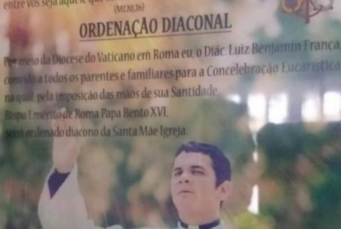 Falso padre é detido por estelionato após aplicar golpe de mais de R$ 100 mil
