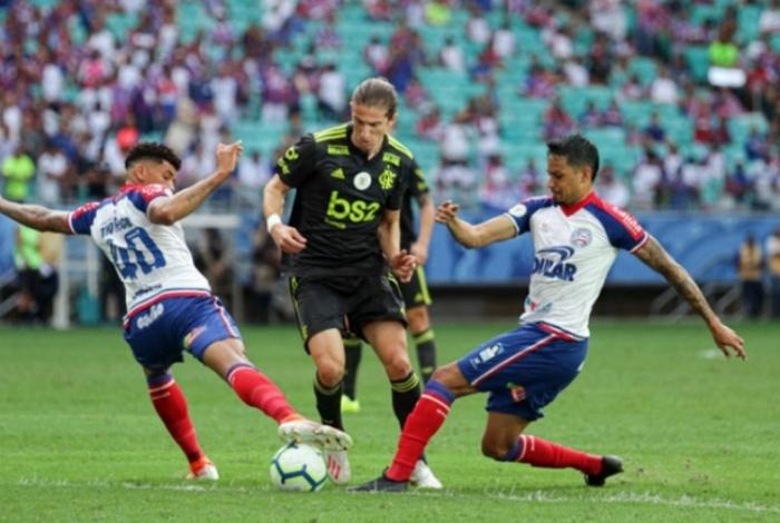 Flamengo perdeu para o Bahia