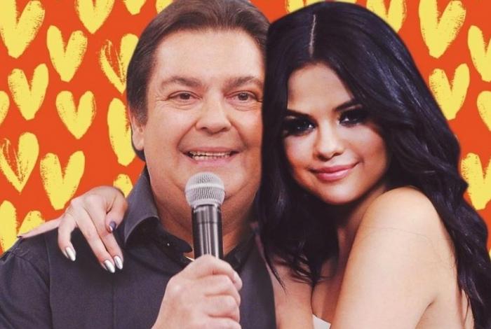 Selena e Faustão