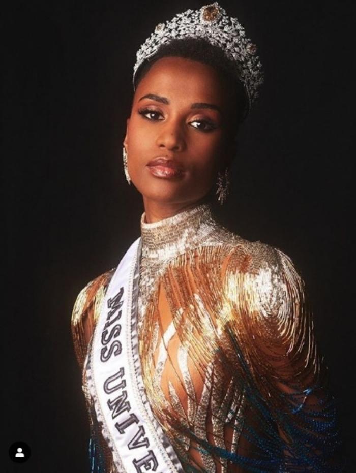 Zozibini Tunzi, nova Miss Universo