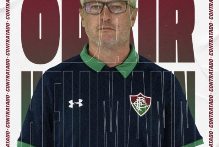 Odair Hellmann foi anunciado como novo técnico do Fluminense