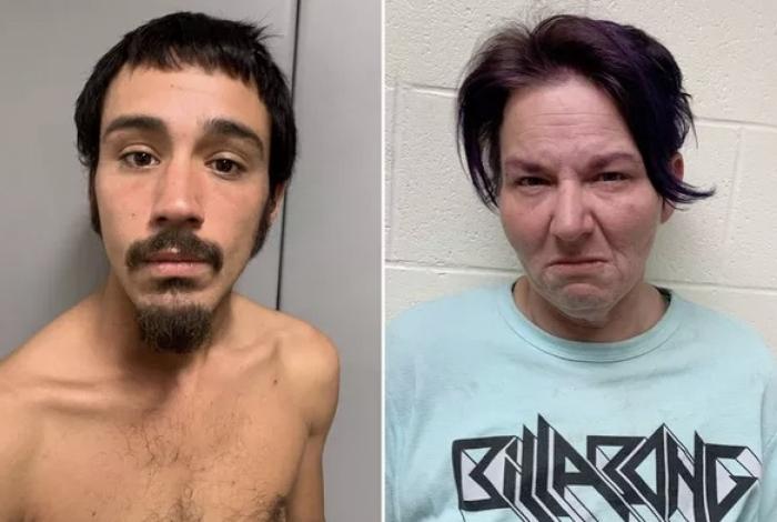 Os ladrões Joseph Betancourt e Marie Bennett