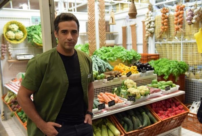 Miguel (Rafael Sardão), em 'Amor Sem Igual'