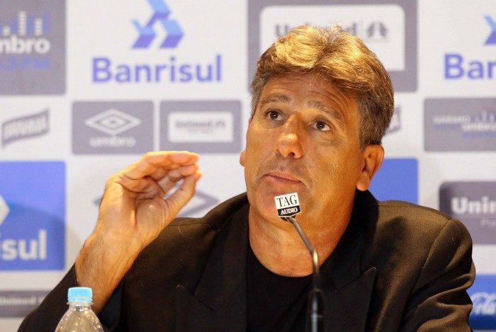 Renato Gaúcho encerrou passagem de quase cinco anos pelo Grêmio