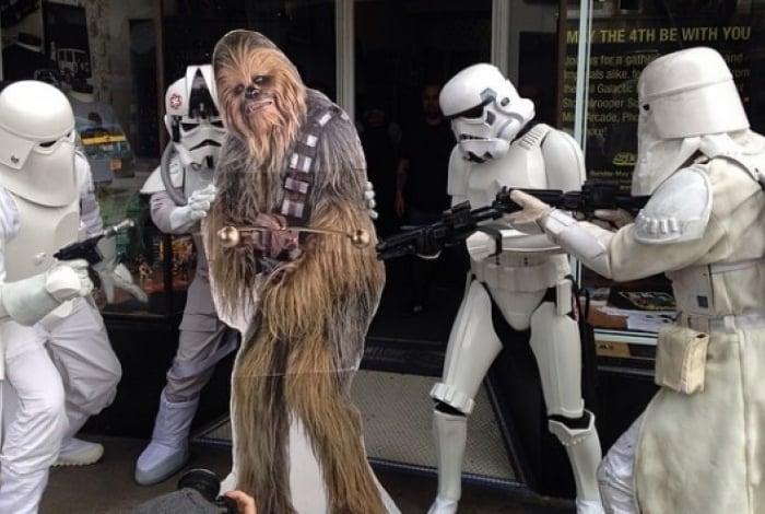 Chewbacca é o personagem de Star Wars mais procurado na internet