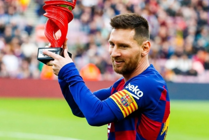 Messi é artilheiro isolado do Campeonato Espanhol, com 19 gols