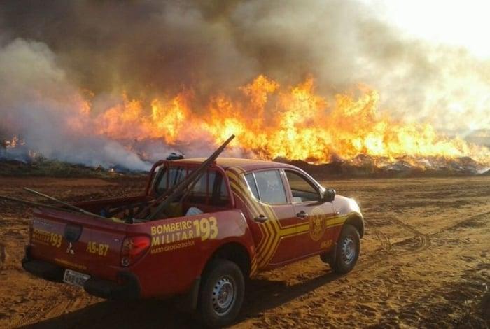 Área atingida pelo fogo corresponde a cinco vezes o território da capital Cuiabá