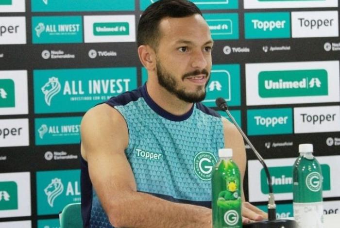 Yago disputou o Brasileiro pelo Goiás