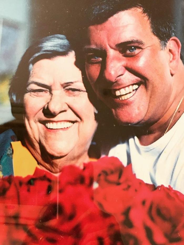Mãe e filho, Hilda Rebello e Jorge Fernando eram muito ligados