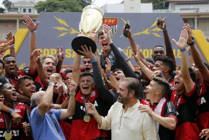 Flamengo ganhou a Copinha em 2018
