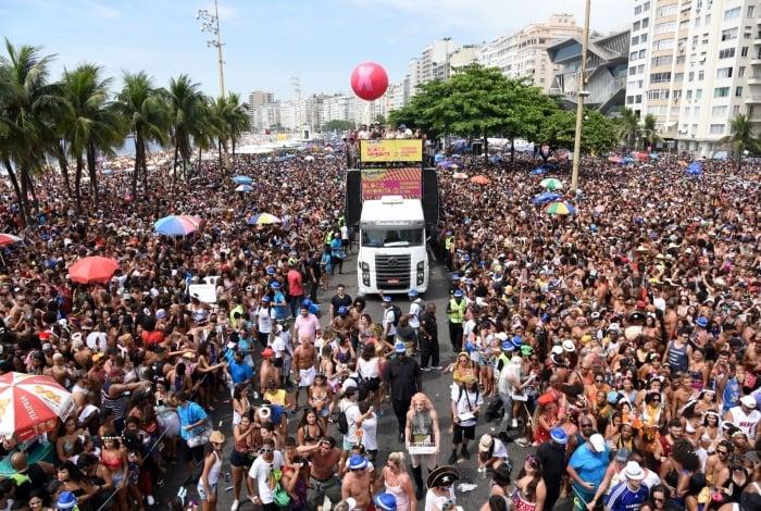 O Bloco da Favorita, que já lotou as ruas de Copacabana, vai abrir o Carnaval 2020 no próximo dia 12