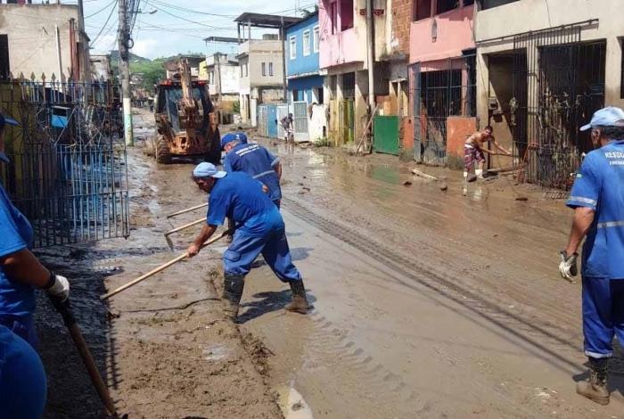 Situação em Barra Mansa