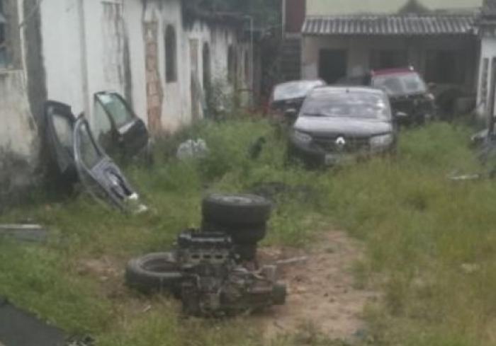 Local foi encontrado após denúncias
