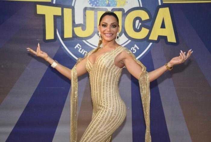 Ana Paula Evangelista brilha no ensaio da Tijuca