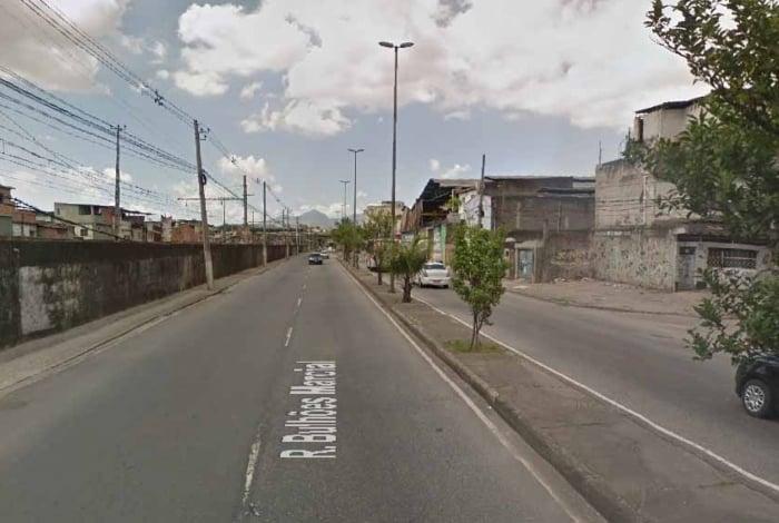 Caso aconteceu na Rua Bulhões Marcial