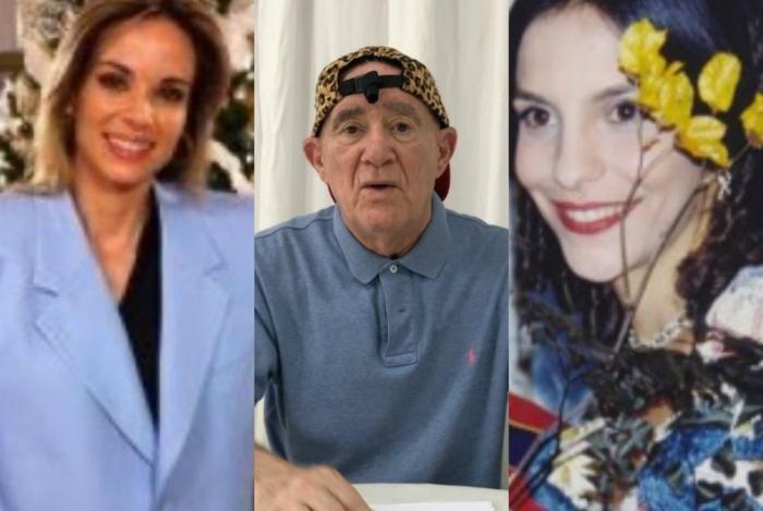 Ana Furtado, Renato Aragão e Ivete Sangalo