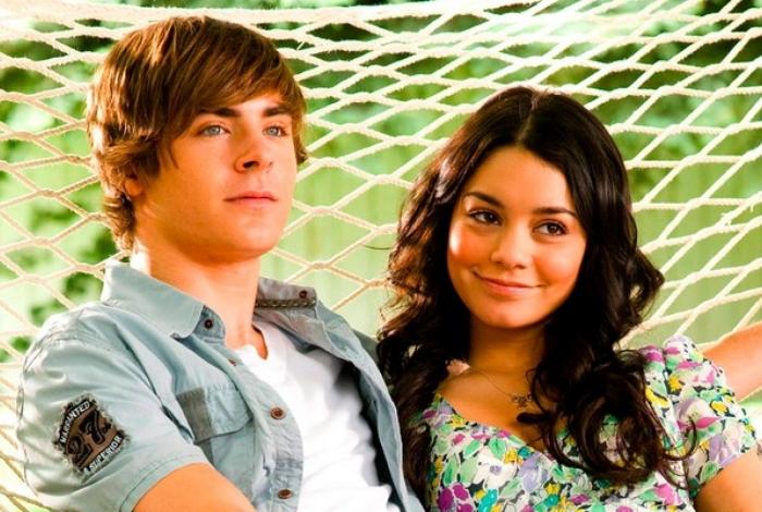 Vanessa Hudgens e Zac Efron em 'High School Musical'