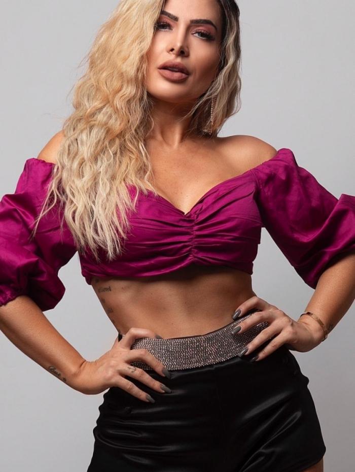 A cantora Mila