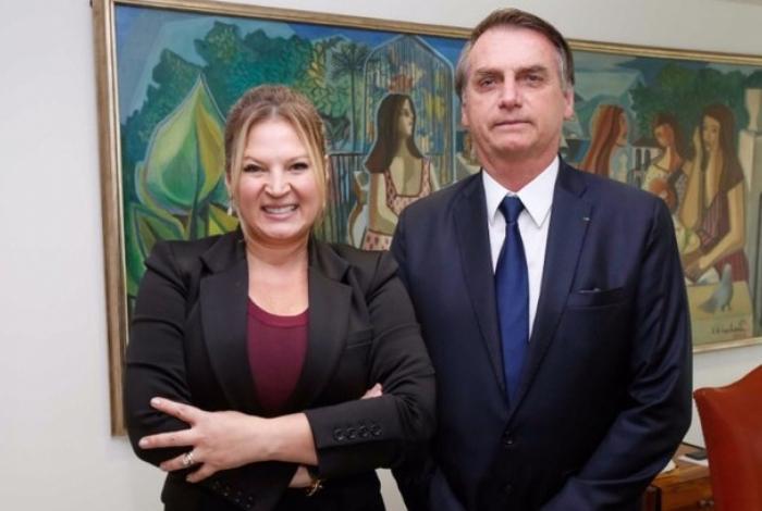 Joice Hasselmann e Bolsonaro