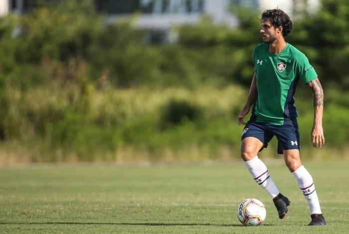 O volante Hudson, ex-São Paulo, está escalado para fazer sua estreia pelo Tricolor das Laranjeiras