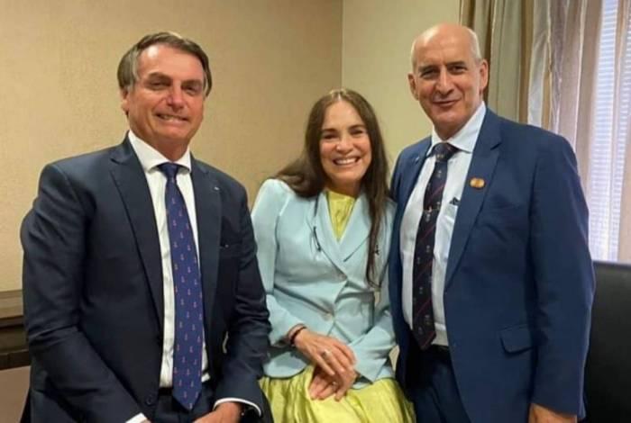 Regina Duarte fez publicação para comentar ingresso no governo Bolsonaro