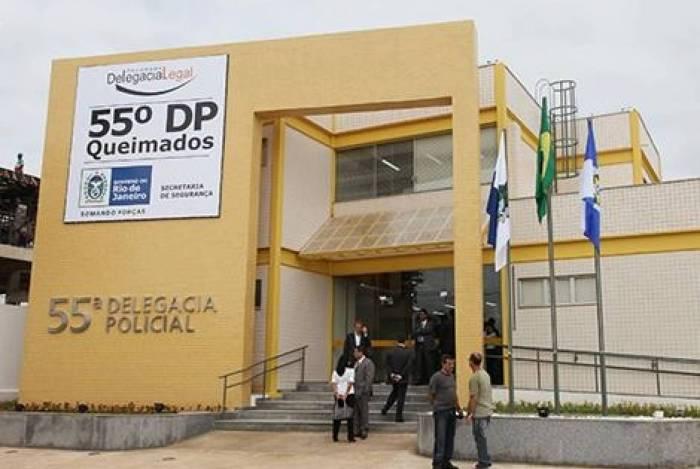 A 55ªDP (Queimados) está a cargo das investigações