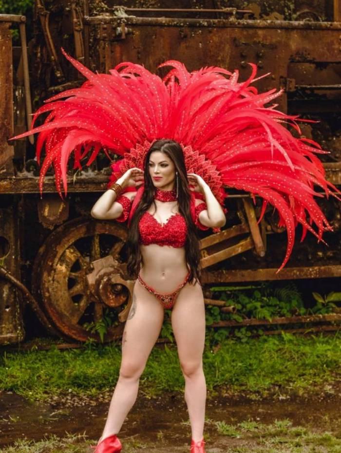 A bailarina do Faustão Markelly Oliveira