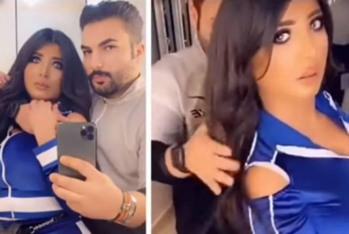 Vídeo postado pelo casal no Kuwait