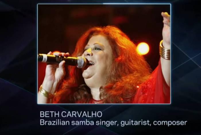 Beth Carvalho e João Gilberto foram homenageados no evento