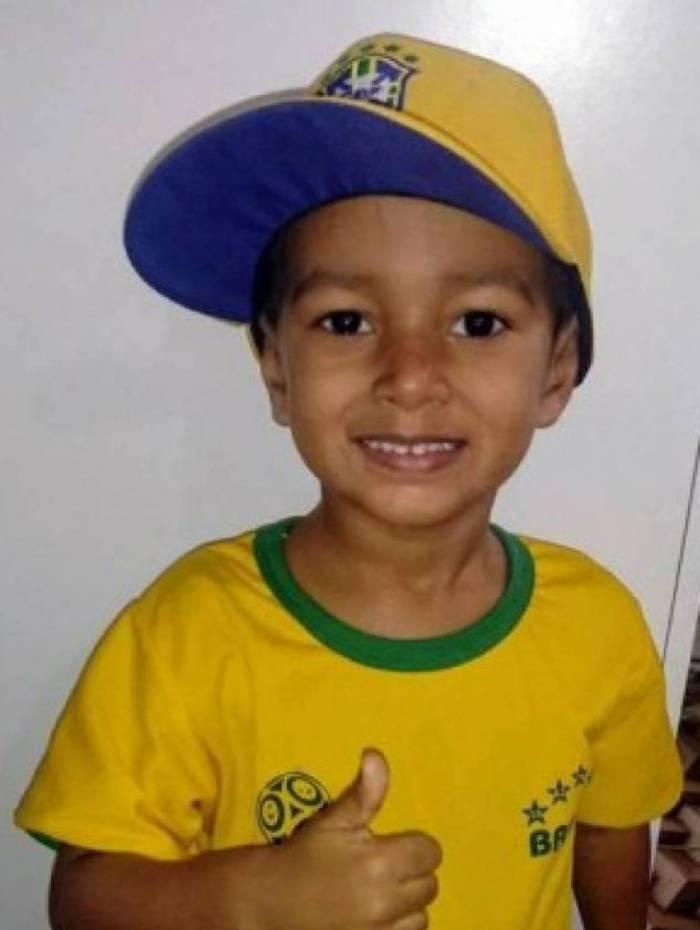 Arthur Gonçalves Monteiro Esperança tem apenas 5 anos de idade