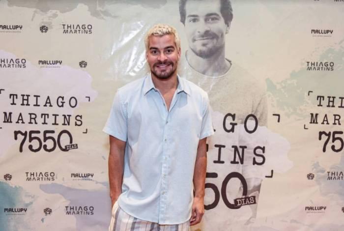 Thiago Martins lança primeira música de seu DVD
