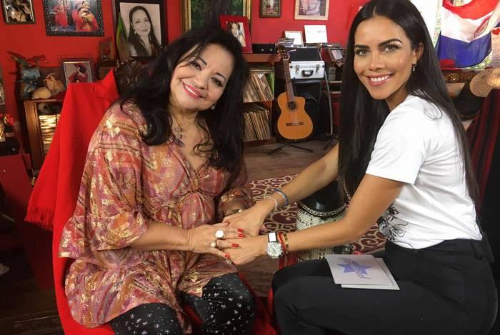 Ermelinda Pedroso Rodríguez D'Almeida, mais conhecida como Perla Paraguaia, é a entrevistada de Daniela Albuquerque no programa  'Sensacional' desta quinta-feira (13), na RedeTV!.