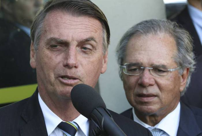 Presidente Jair Bolsonaro disse que, na economia, segue a cartilha do ministro Paulo Guedes