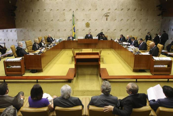 Plenário do Supremo Tribunal Federal (STF)
