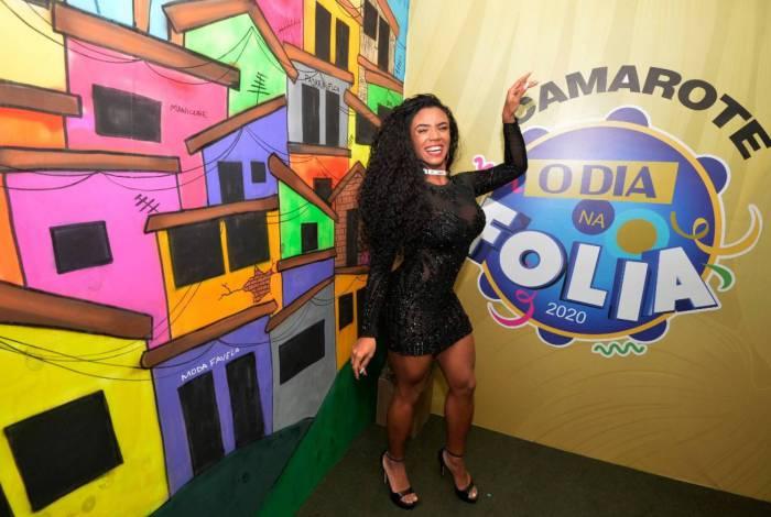 Evelyn Bastos, rainha de bateria da Mangueira