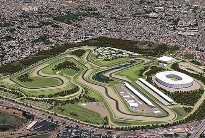 Projeto para o novo autódromo do Rio