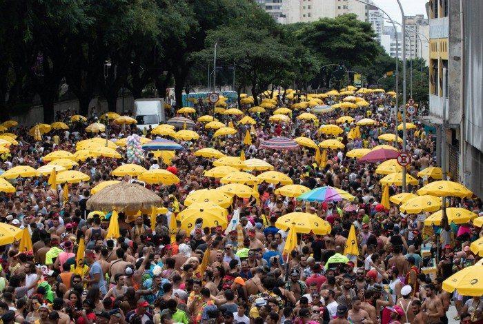 Bloco pipoca da Daniela Mercury, em São Paulo, ano passado
