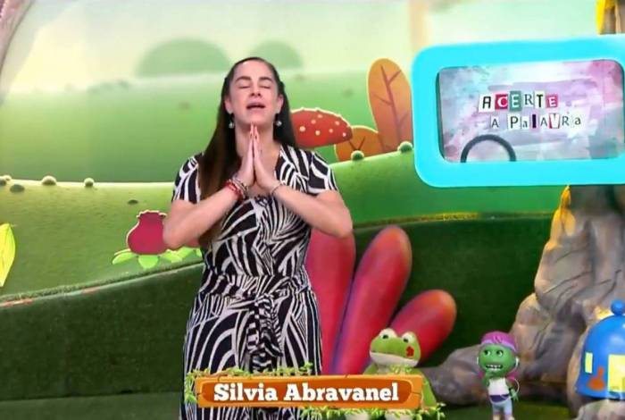 Silvia Abravanel volta ao 'Bom Dia e Cia'