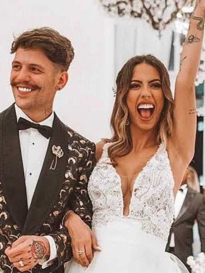Gabi Brandt e Saulo Pôncio se separam após um ano de casados