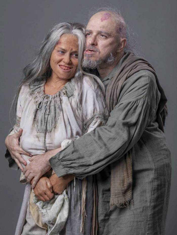 Guilherme Piva e Vivianne Pasmanter revivem Licurgo e Germana