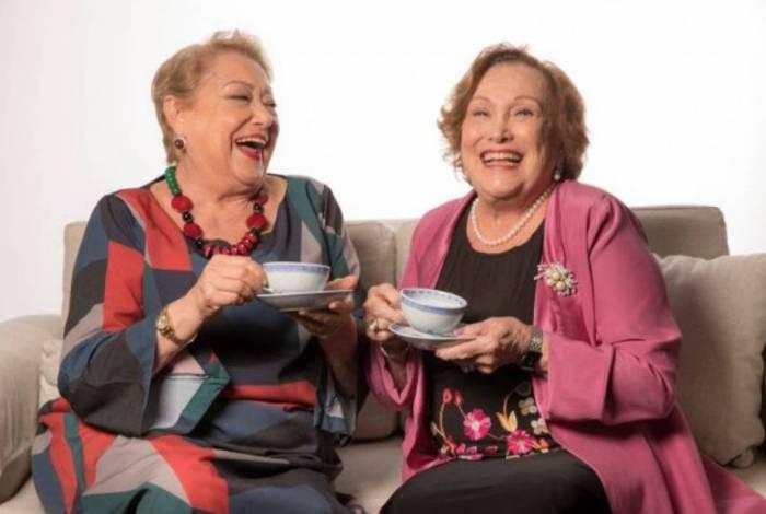 Nicette Bruno e Suely Franco se encontram na comédia Quarta-feira, sem falta, lá em casa