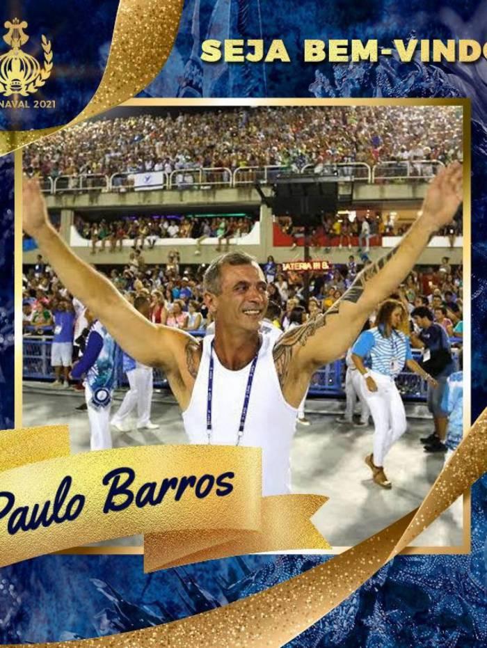 Paulo Barros é o novo carnavalesco do Paraíso do Tuiuti