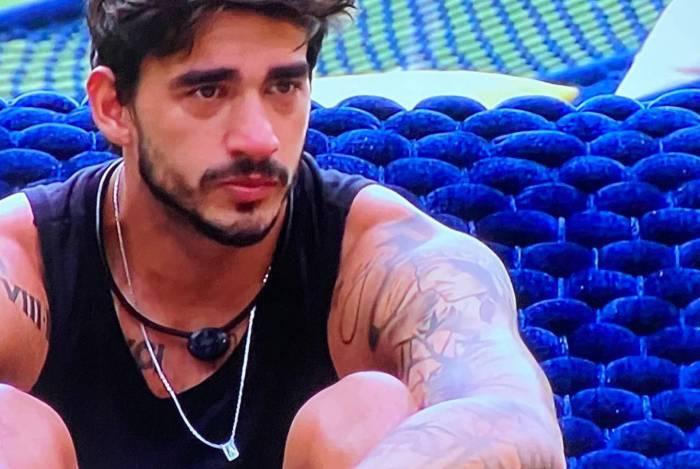 Guilherme chora