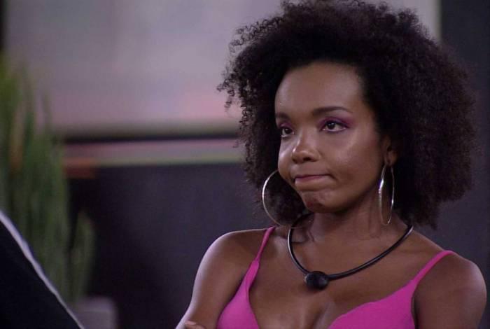 Thelma rebateu ao comentário de Ivy que disse que gostaria que o Babu tivesse saído