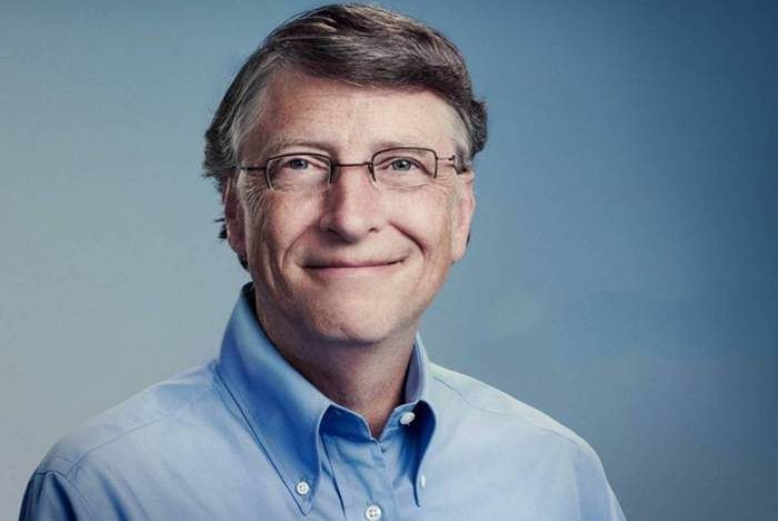 Bill Gates é cofundador da Microsoft