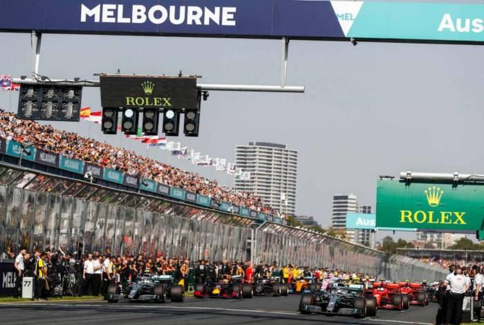 O GP da Austrália, que abriria a temporada, foi uma das corridas canceladas em 2020 por conta da pandemia do novo coronavírus