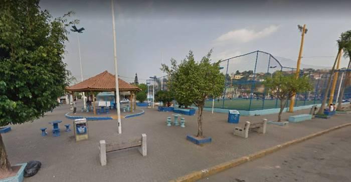 Praça do Galo, em Caxias, onde menina foi levada por desconhecido