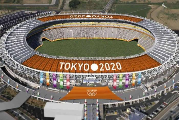 Tokyo Stadium, onde irá ocorrer a tradicional Cerimônia de Abertura